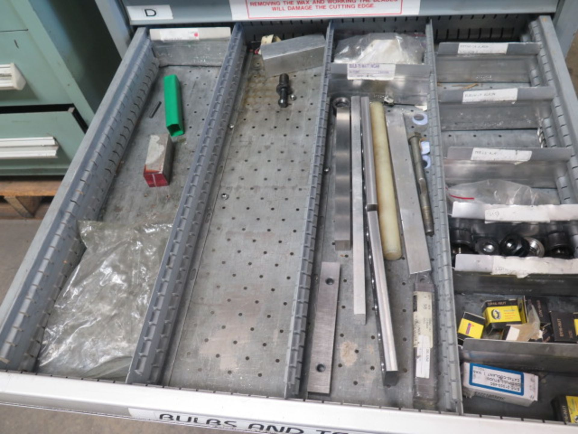 Lista 9-Drawer Tooling Cabinet w/ Mill Clamps (SOLD AS-IS - NO WARRANTY) - Image 10 of 11