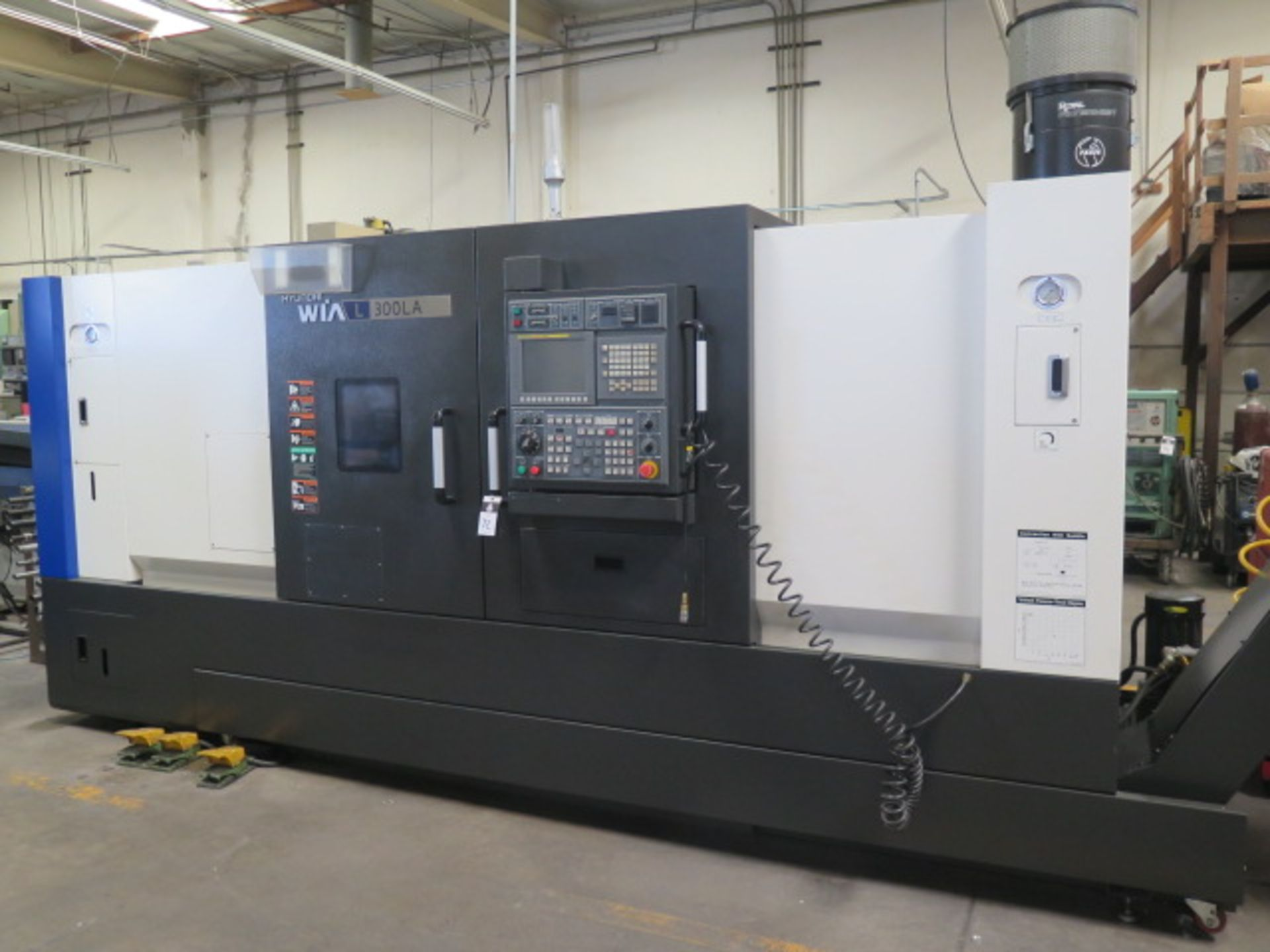 2016 Hyundai WIA L300LA CNC Turning Center s/n G3726-0083 w/ Fanuc i-Series Controls, SOLD AS IS - Image 2 of 20