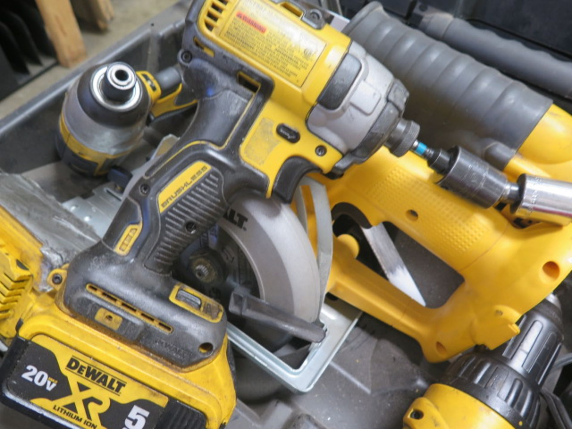 DeWalt Cordless Tools w/ Charger (SOLD AS-IS - NO WARRANTY) - Image 8 of 9