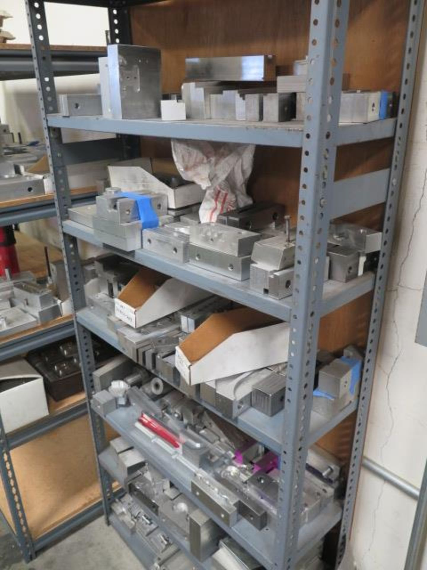 Vise Jaws, Fixtures and Misc w/ (7) Shelves (SOLD AS-IS - NO WARRANTY) - Image 4 of 6