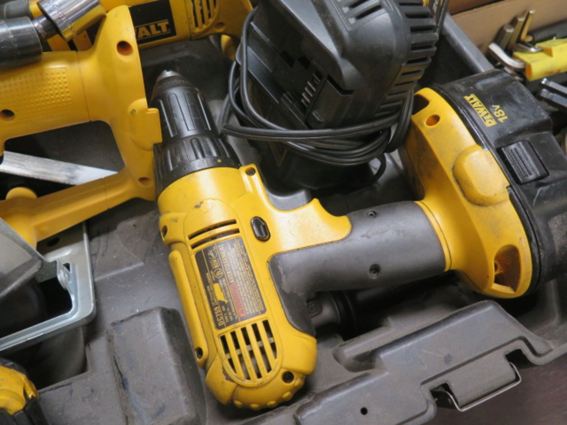DeWalt Cordless Tools w/ Charger (SOLD AS-IS - NO WARRANTY) - Image 7 of 9
