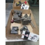 KDK and Phase II Tool Posts (2) and Tool Holders (SOLD AS-IS - NO WARRANTY)