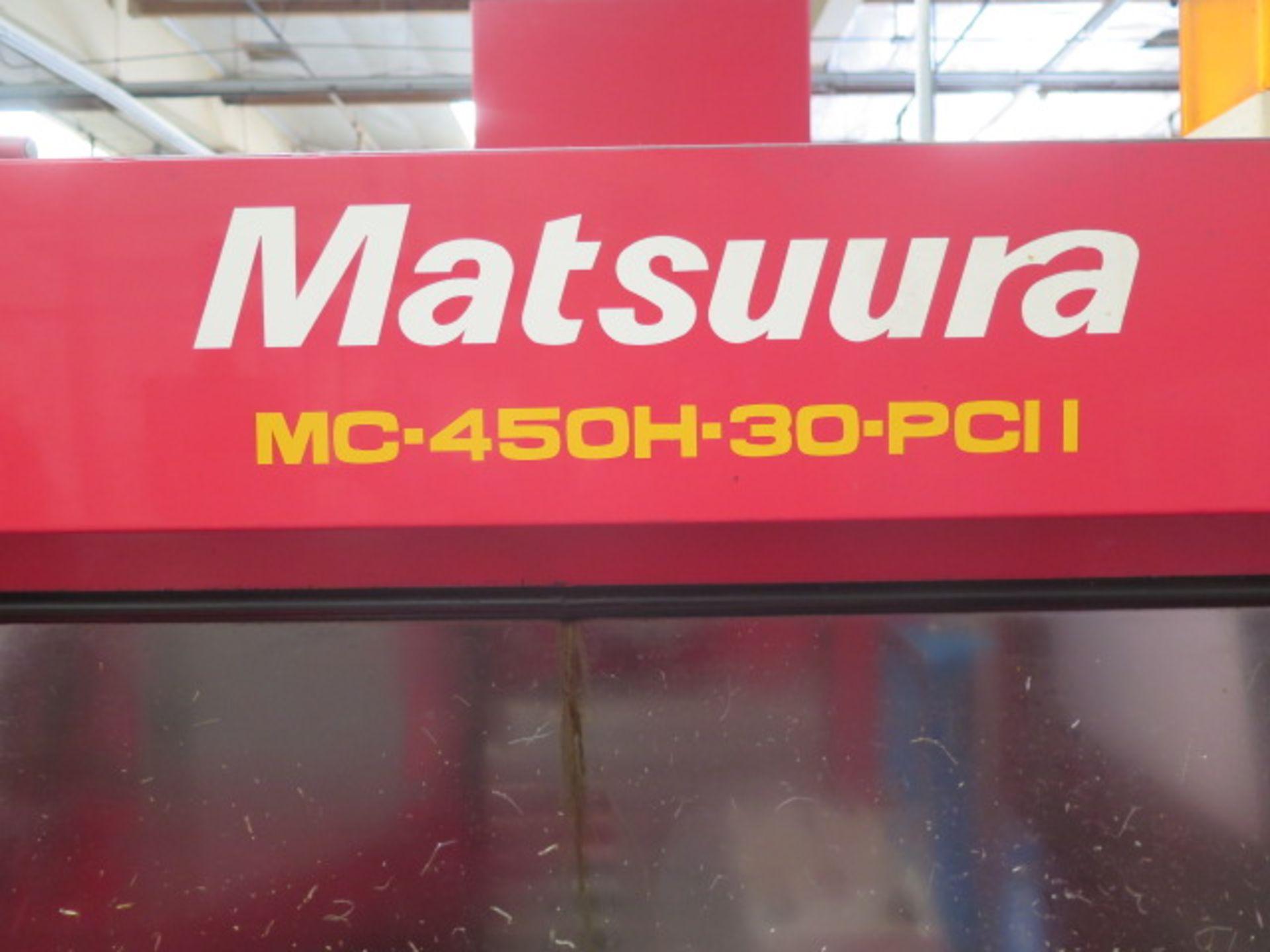 1992 Matsuura MC-450H-30-PC II 10-Pallet CNC Horizontal Machining Center s/n 910609609, SOLD AS IS - Image 3 of 23