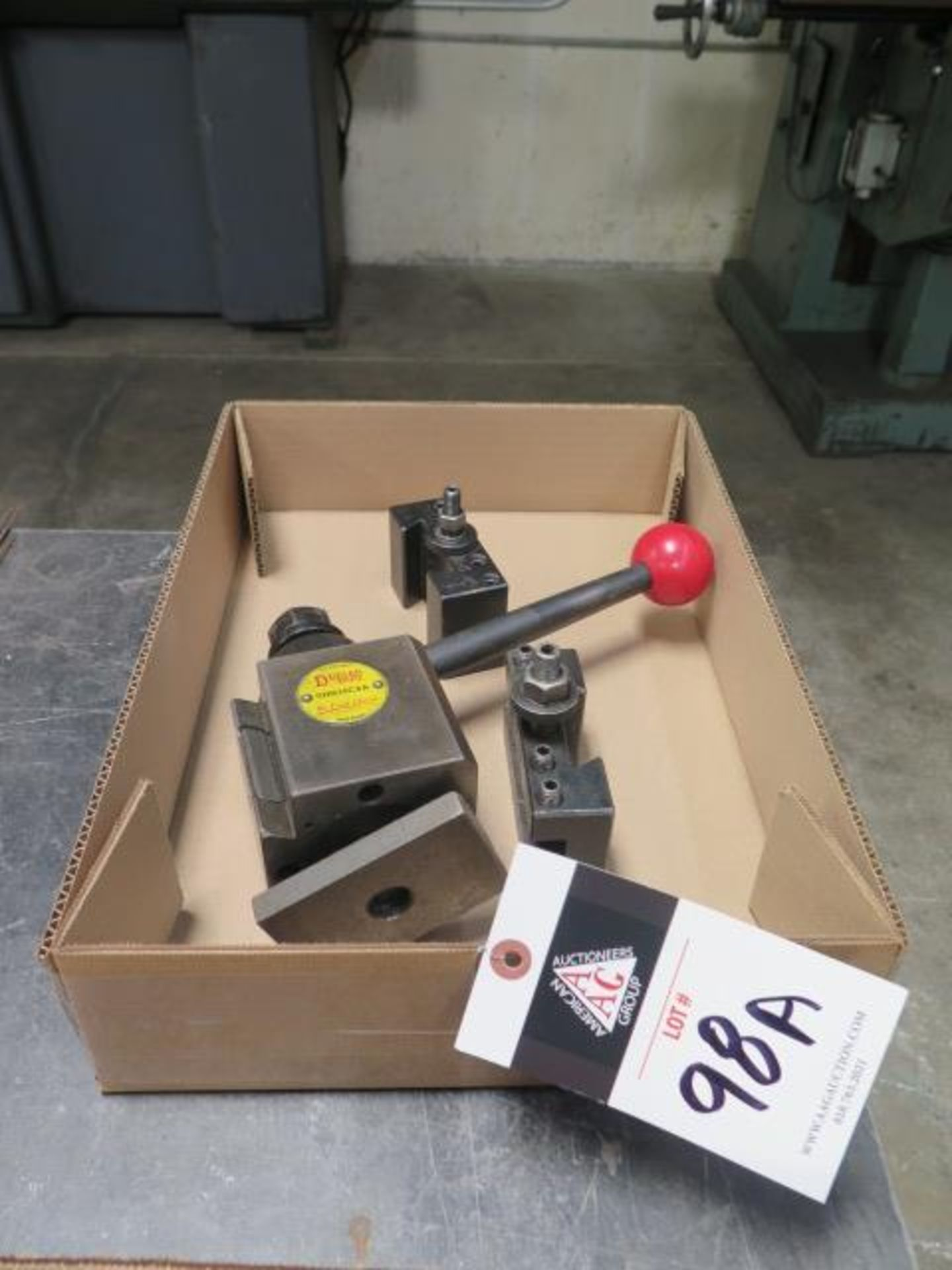Dorian Tool Post and Tool Holders (SOLD AS-IS - NO WARRANTY)