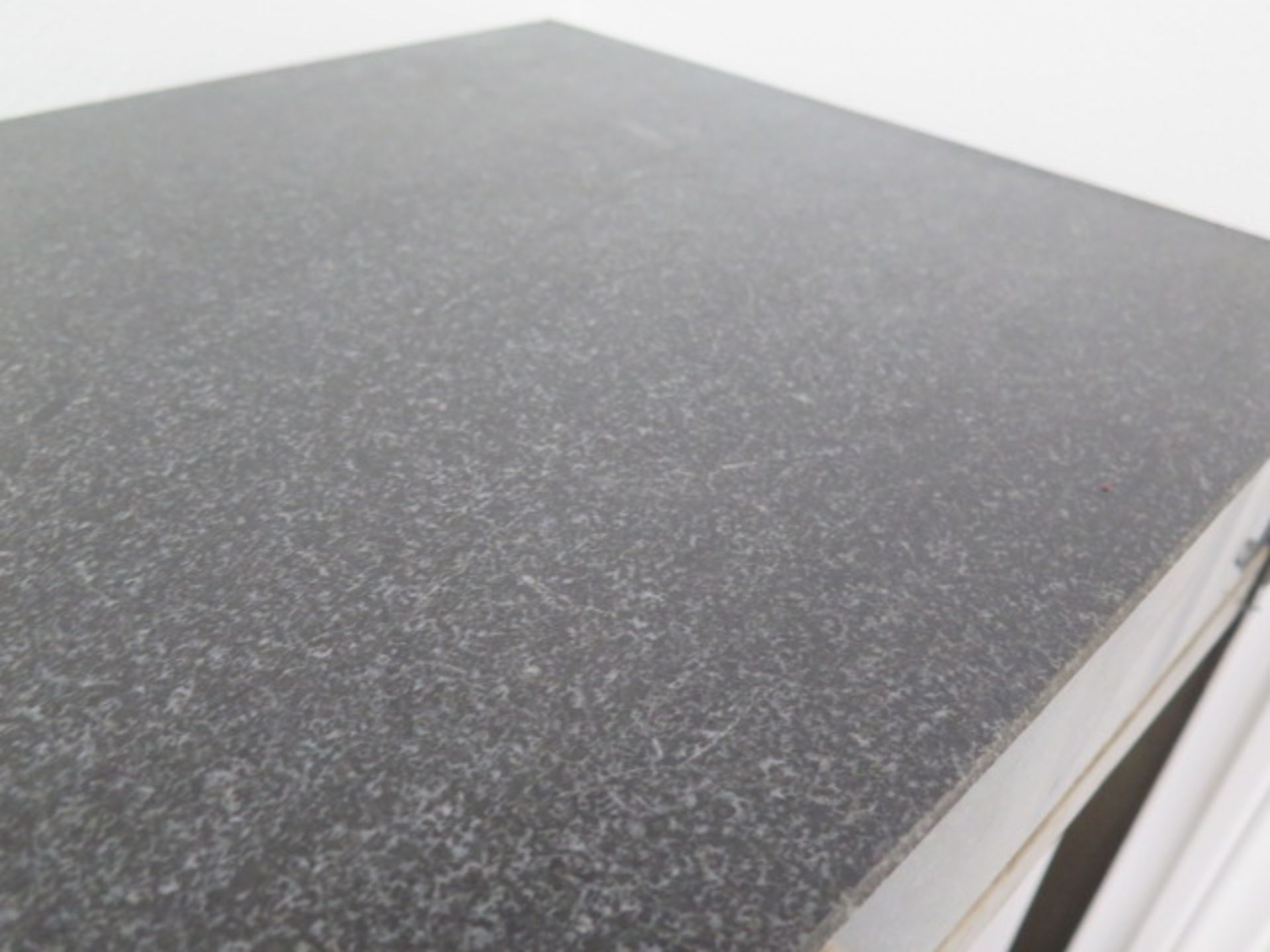 """18"""" x 24"""" x 4"""" 2-Ledge Granite Surface Plate w/ Roll Stand (SOLD AS-IS - NO WARRANTY) - Image 3 of 4"""
