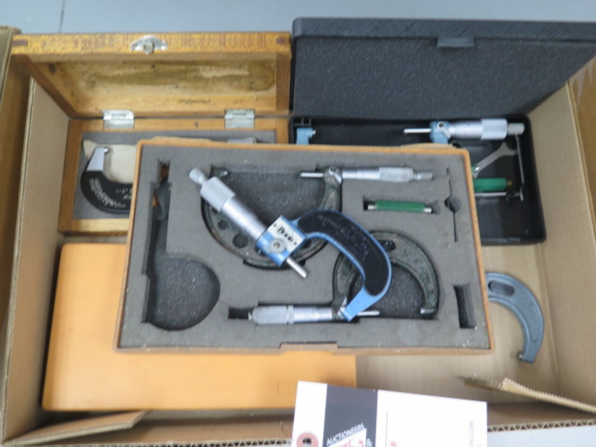 Mitutoyo OD Mics (7) (SOLD AS-IS - NO WARRANTY) - Image 2 of 7