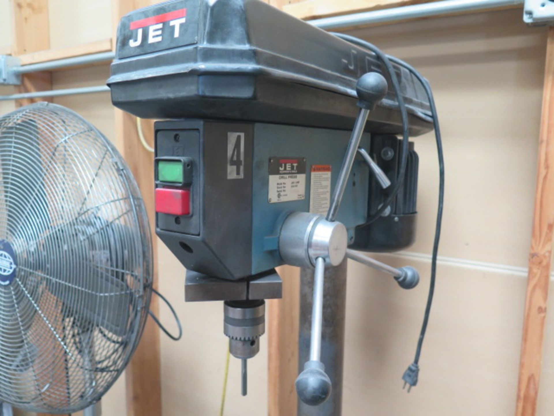 Jet Pedestal Drill Press (SOLD AS-IS - NO WARRANTY) - Image 2 of 7