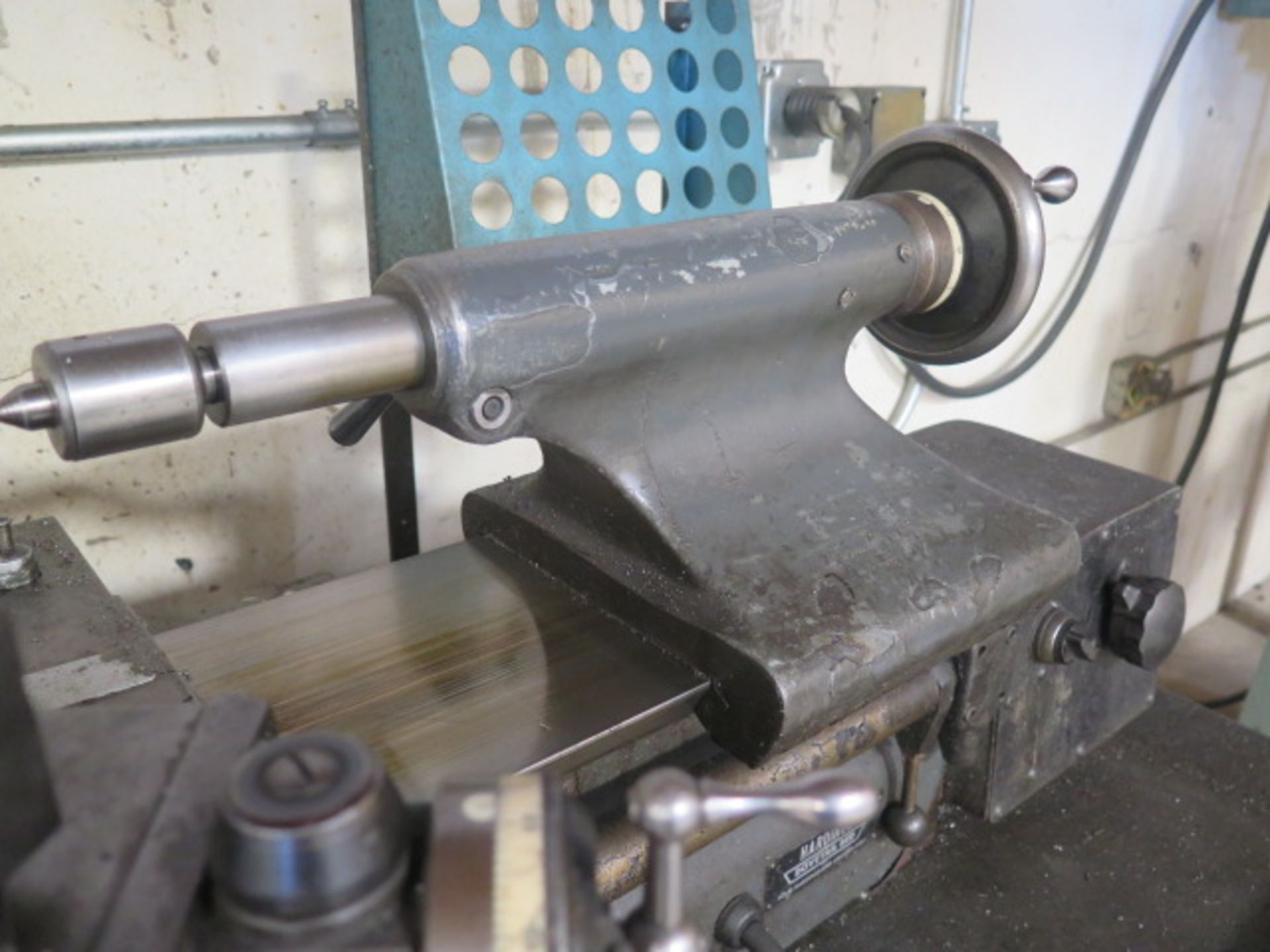 Hardinge TFB-H Wide Bed Lathe w/ 125-3000 RPM, Tailstock, Power Feed, 5C Collet Closer, Coolant ( - Image 7 of 10