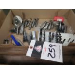 Radius Cutters, Thread Mills, Key-Slot Cutters and Angle Mills (SOLD AS-IS - NO WARRANTY)