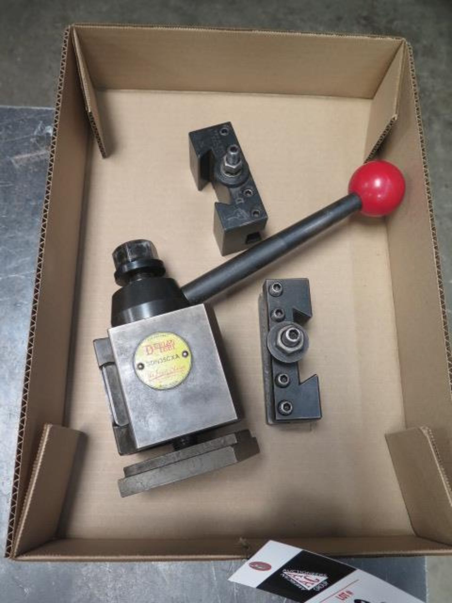 Dorian Tool Post and Tool Holders (SOLD AS-IS - NO WARRANTY) - Image 2 of 4