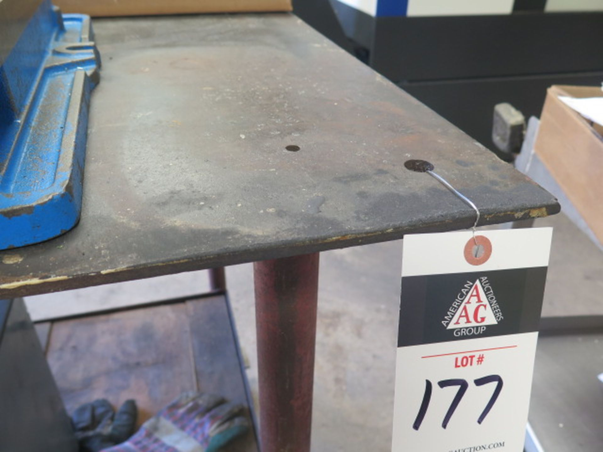 Rolling Steel Table (SOLD AS-IS - NO WARRANTY) - Image 2 of 3