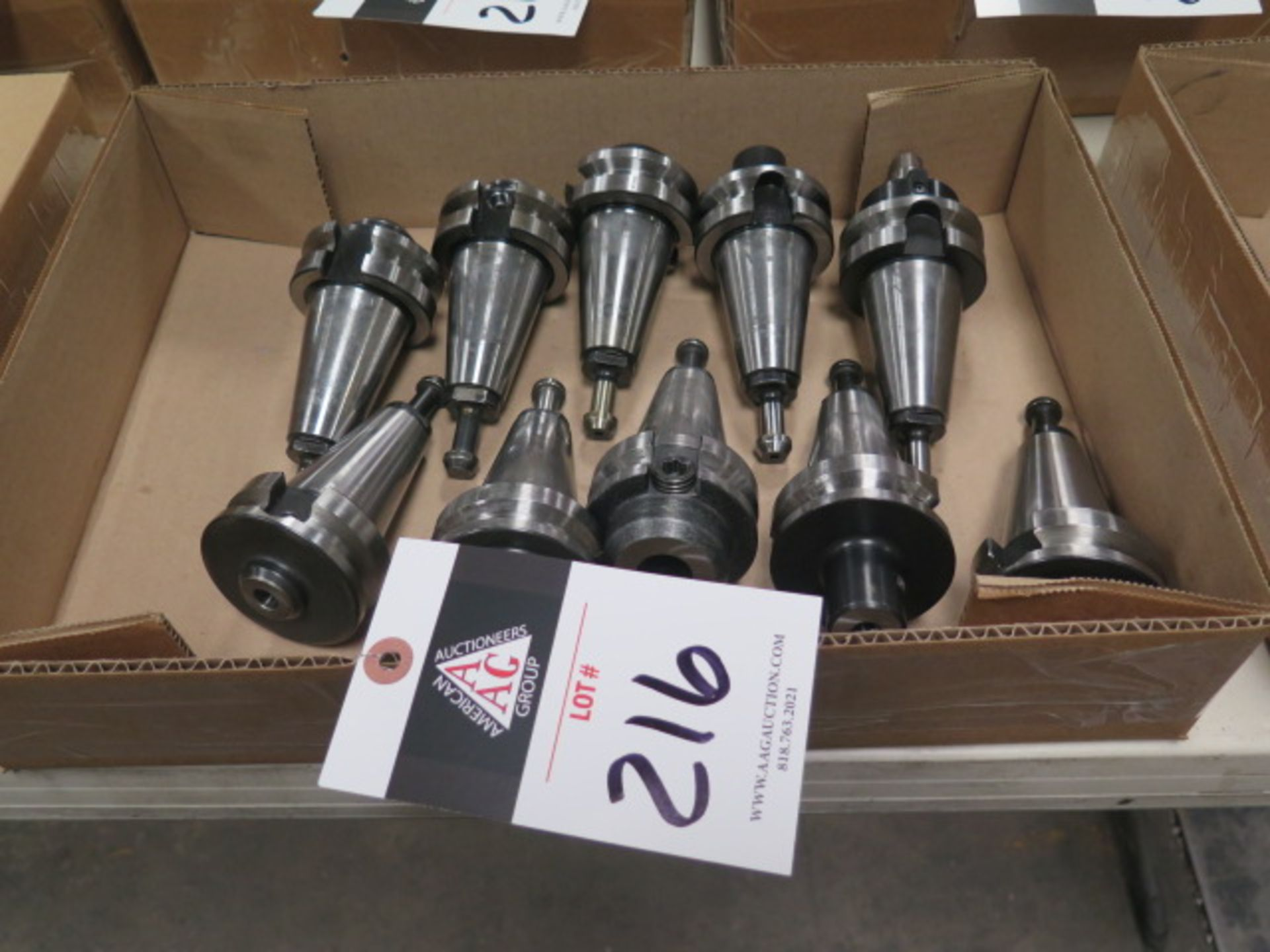 BT-40 Taper Tooling (10) (SOLD AS-IS - NO WARRANTY)