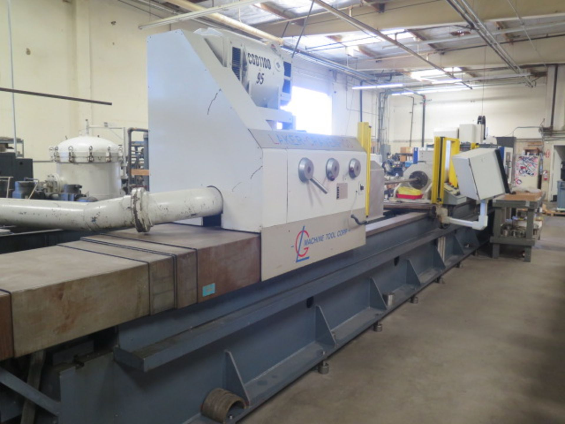 Laker-Craven-100 CNC Deep Hole Drilling Machine s/n 1241 w/ Fanuc Power MATE Controls, SOLD AS IS - Image 2 of 41