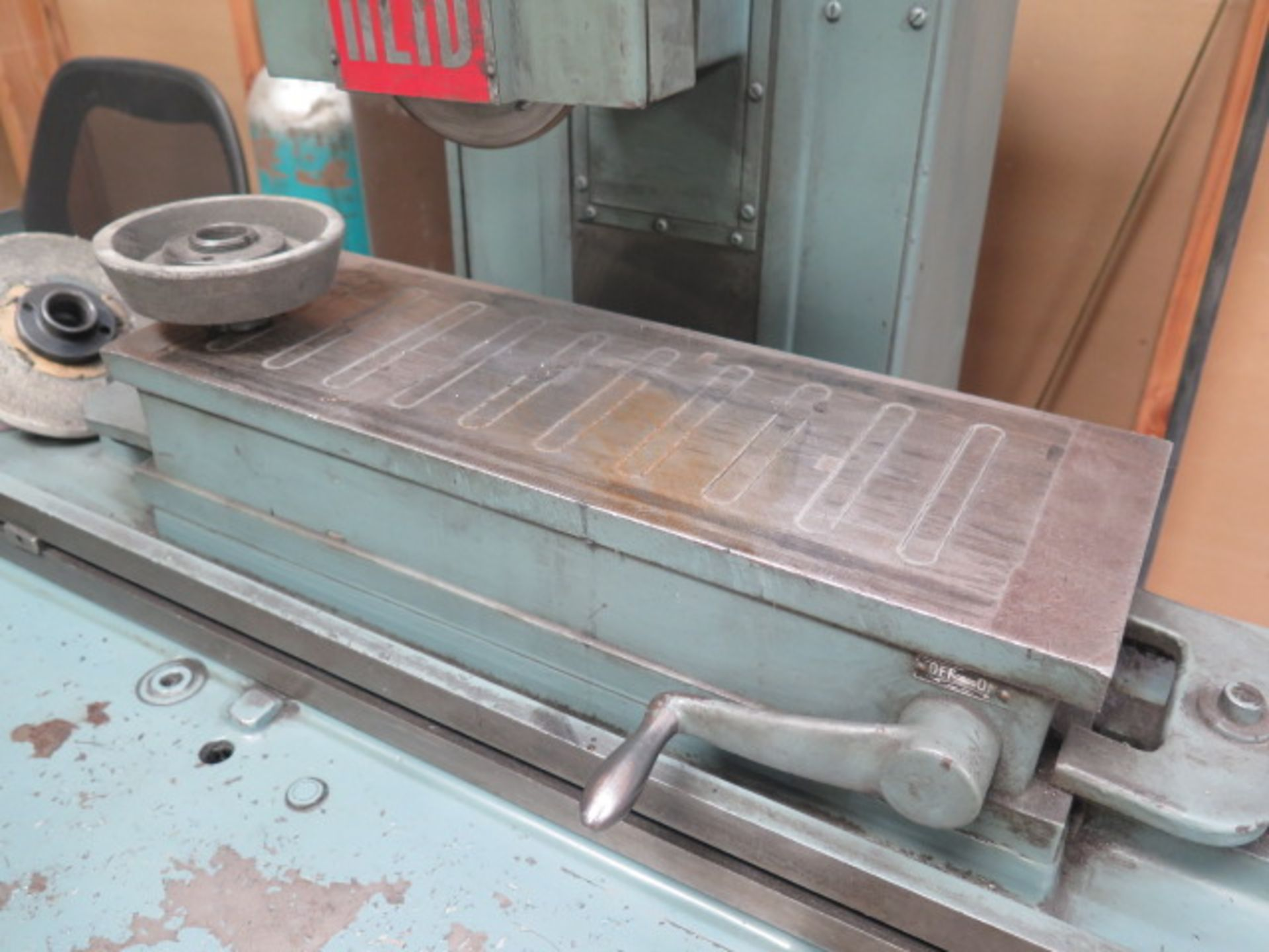 """Reid 618HA 6"""" x 18"""" Surface Grinder s/n 14554 w/ Magnetic Chuck (SOLD AS-IS - NO WARRANTY) - Image 6 of 9"""