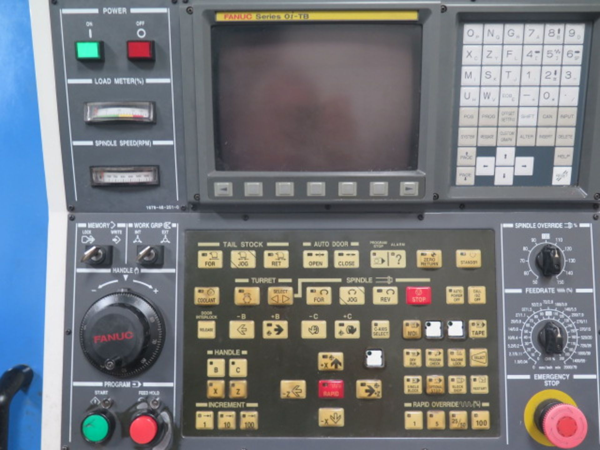2004 Kia Super KIA Turn 15 CNC Turning Center s/n SKT150905 w/ Fanuc Series 0i-TB Contrs, SOLD AS IS - Image 6 of 16