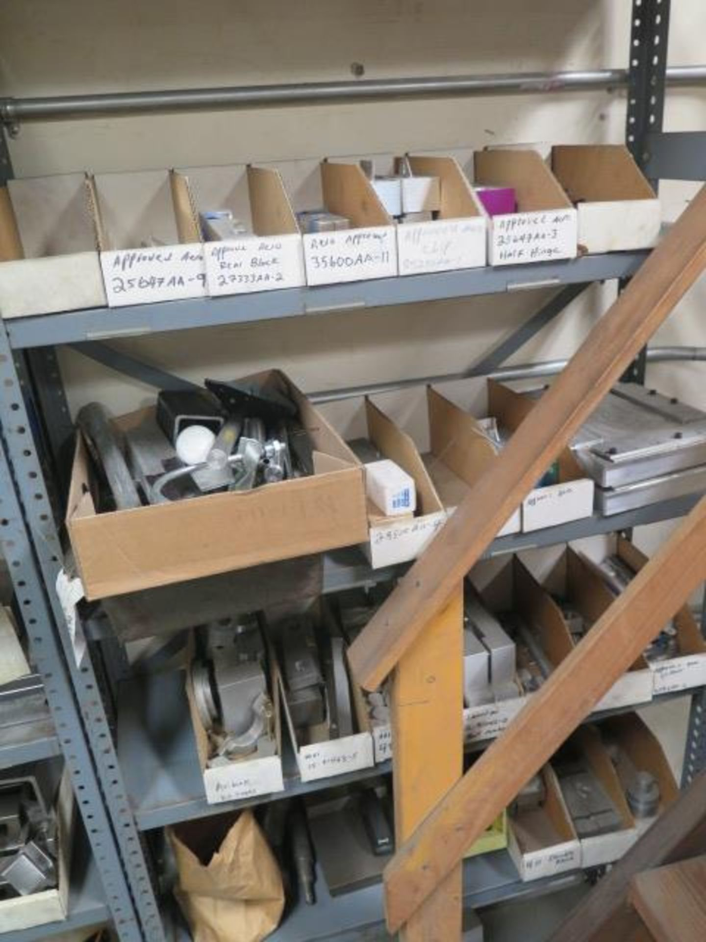Vise Jaws, Fixtures and Misc w/ (7) Shelves (SOLD AS-IS - NO WARRANTY) - Image 2 of 6