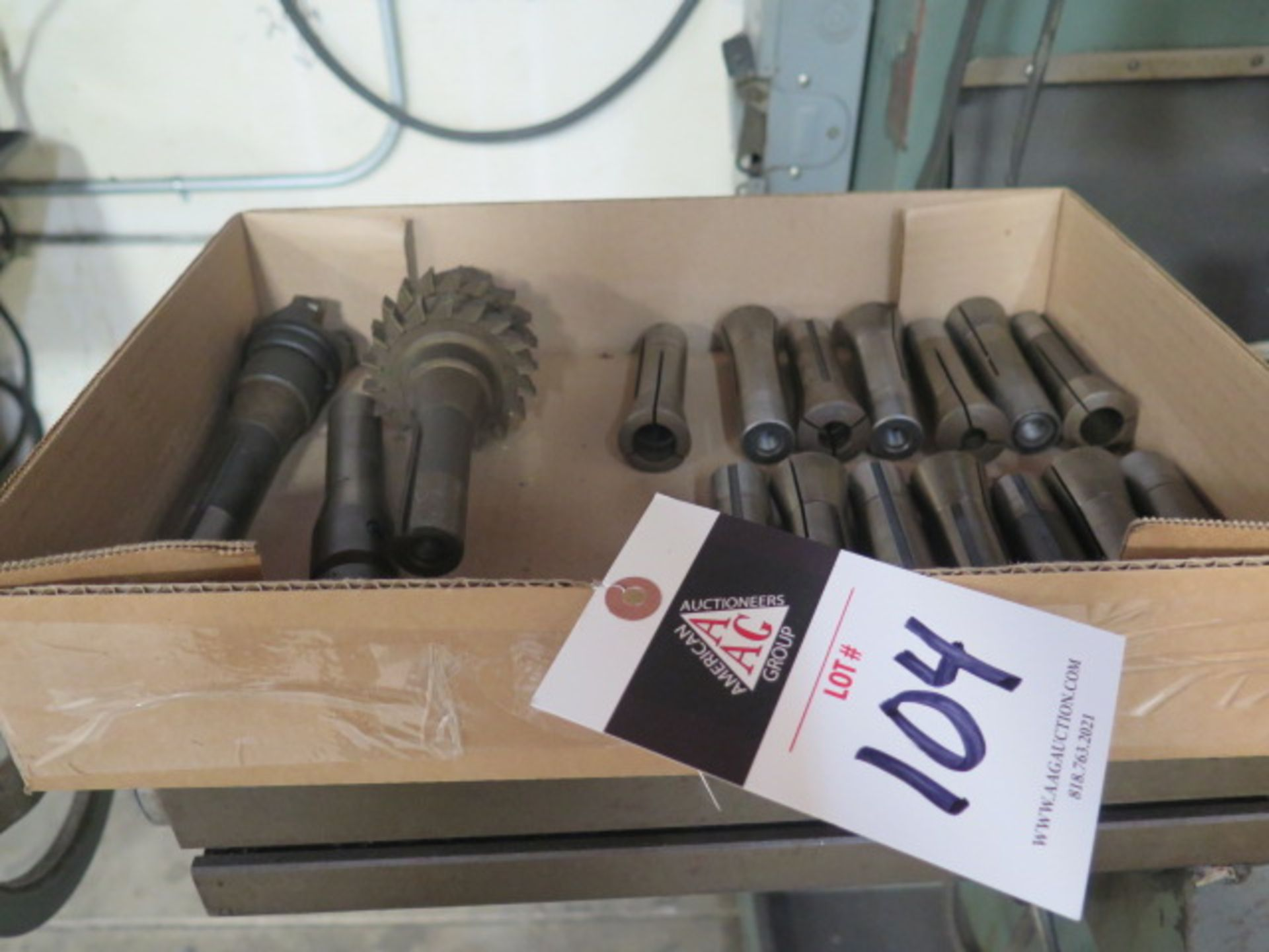R8 Collets and Tooling (13) (SOLD AS-IS - NO WARRANTY)