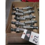 BT-40 Taper ER16 Collet Chucks (10) (SOLD AS-IS - NO WARRANTY)
