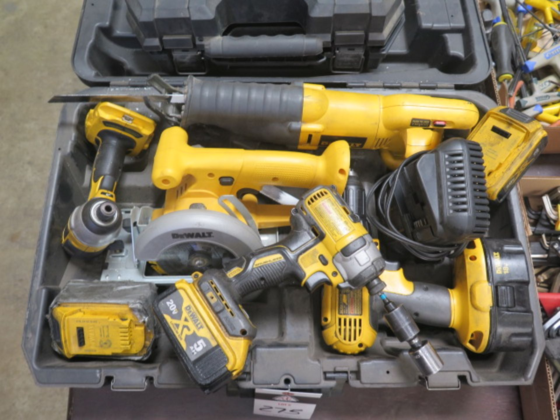 DeWalt Cordless Tools w/ Charger (SOLD AS-IS - NO WARRANTY) - Image 2 of 9