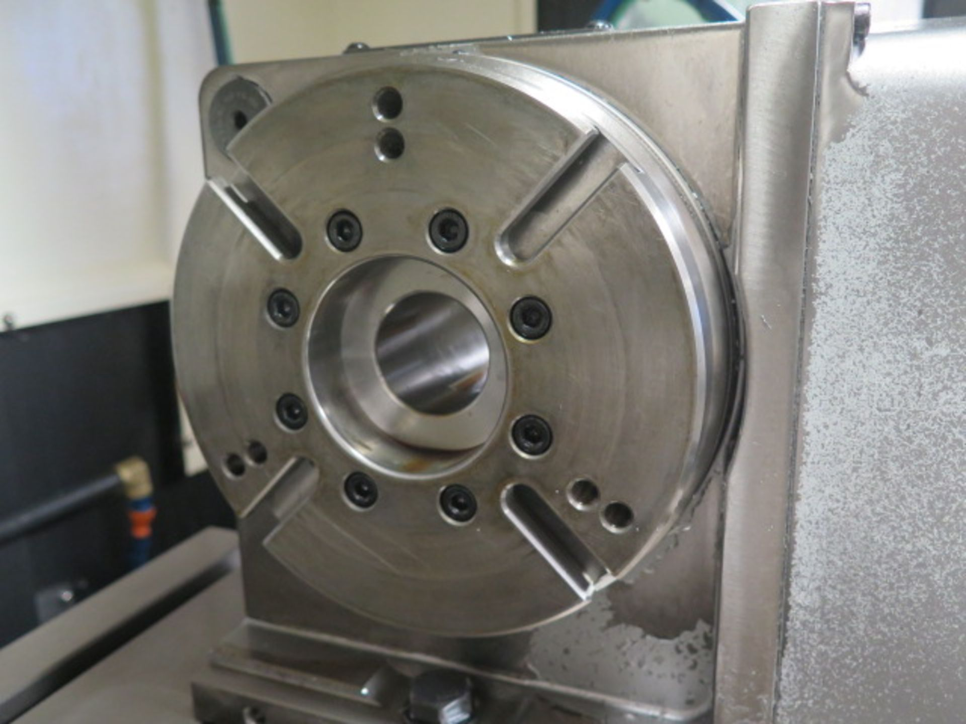 "Samchully mdl. S-200F4 4th Axis 8"" Rotary Head (SOLD AS-IS - NO WARRANTY) - Image 4 of 6"