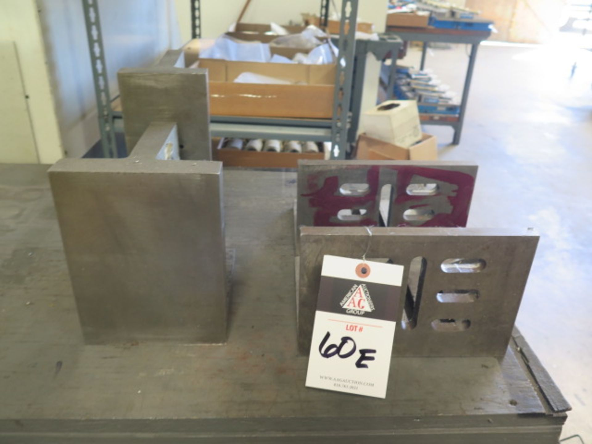 Angle Plates (4) (SOLD AS-IS - NO WARRANTY)