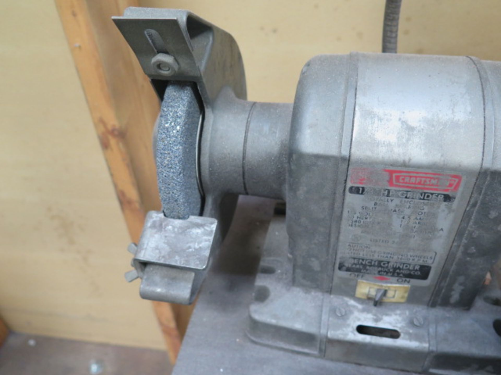 Craftsman Bench Grinder (SOLD AS-IS - NO WARRANTY) - Image 3 of 4