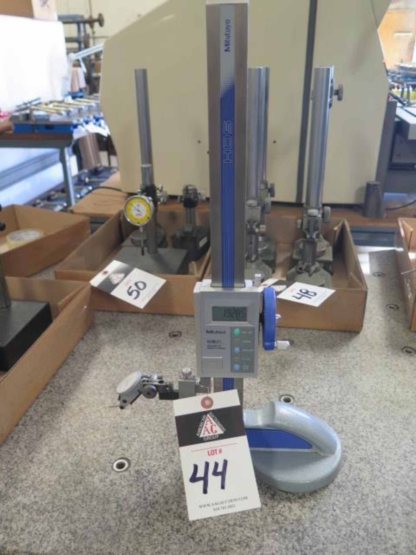 """Mitutoyo 12"""" Digital Height Gage (SOLD AS-IS - NO WARRANTY)"""