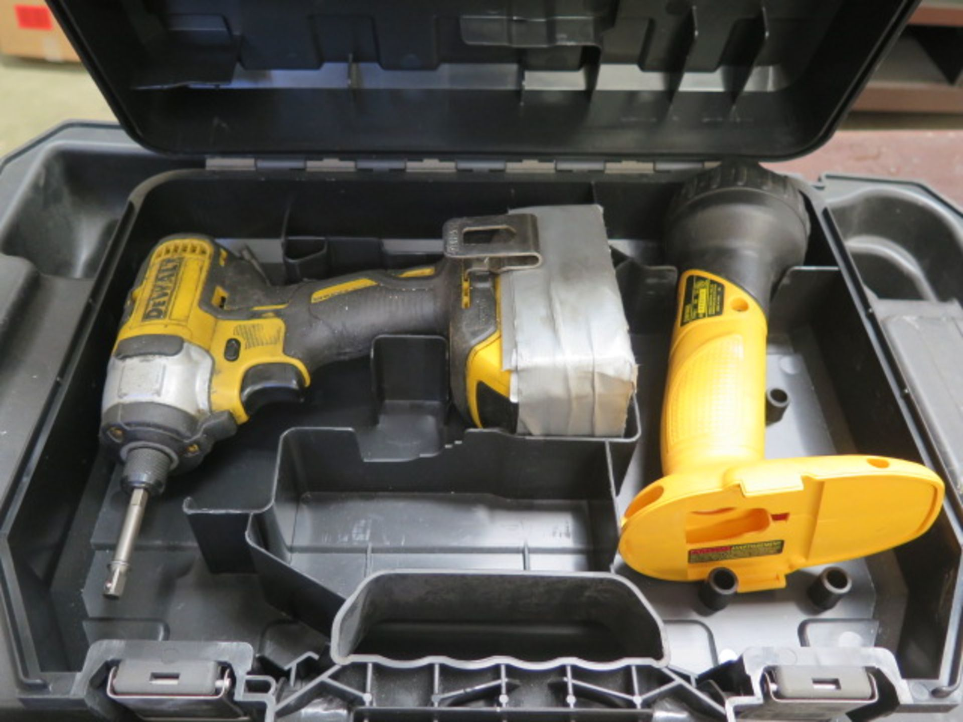 DeWalt Cordless Tools w/ Charger (SOLD AS-IS - NO WARRANTY) - Image 3 of 9