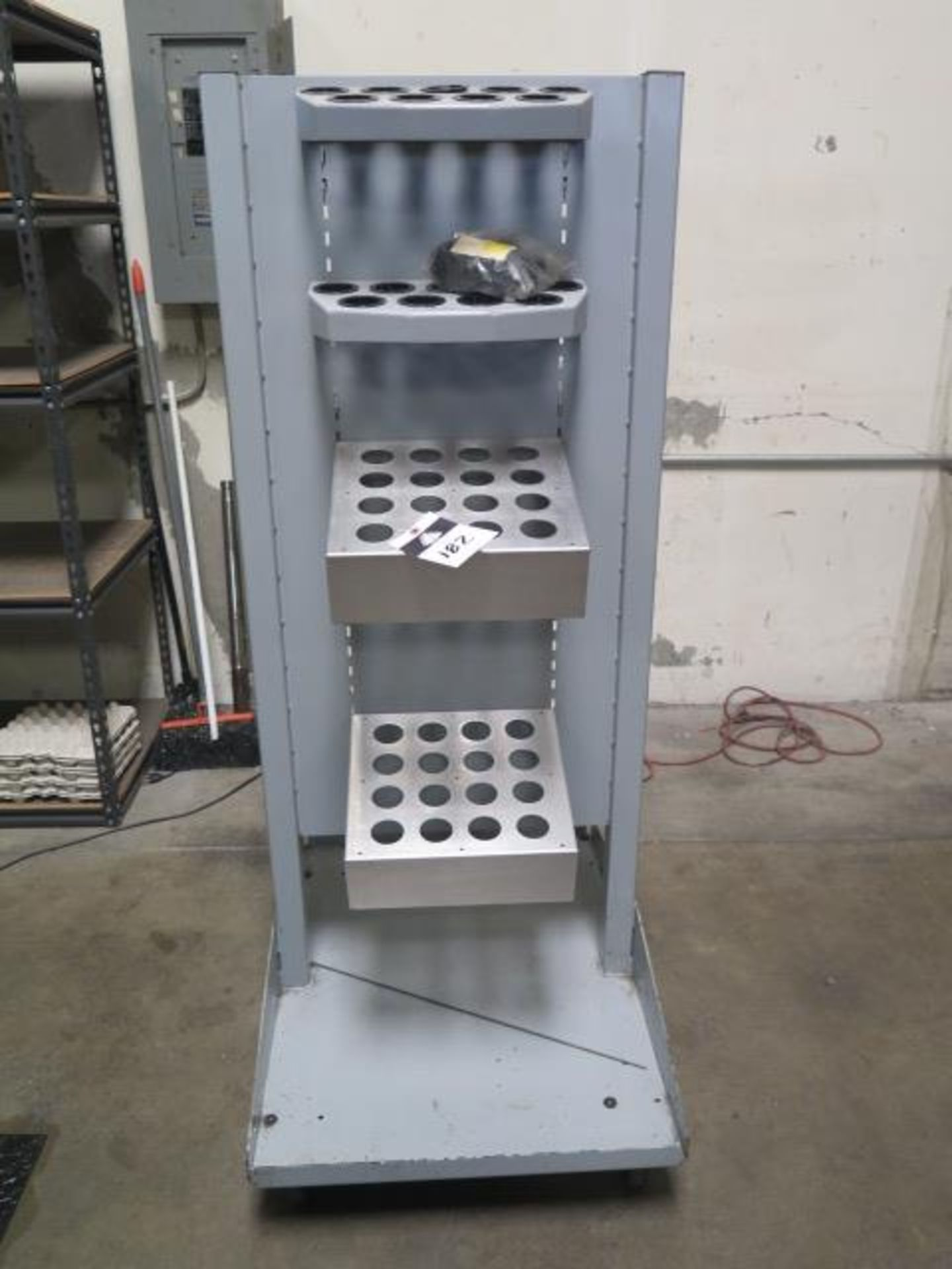 40-Taper Tooling Cart (SOLD AS-IS - NO WARRANTY)