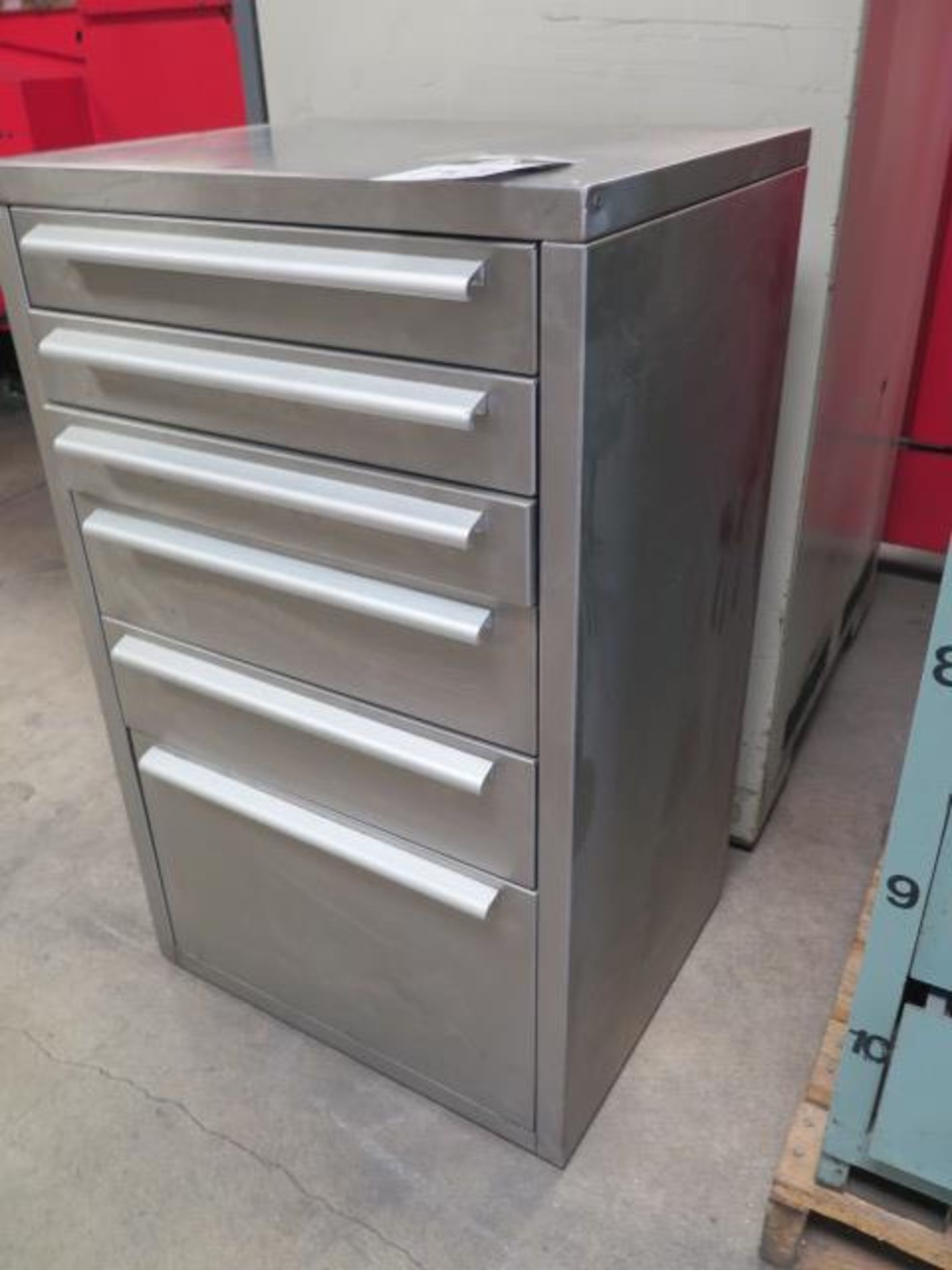 Stainless Steel 5-Drawer Tooling Cabinet (SOLD AS-IS - NO WARRANTY) - Image 2 of 5