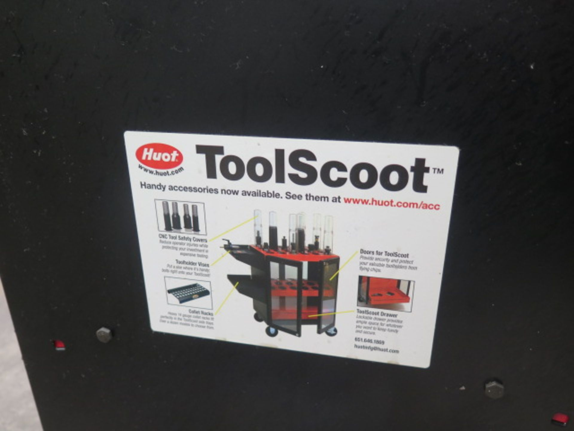 Huot Toolscoot 50-Taper Tooling Cart (SOLD AS-IS - NO WARRANTY) - Image 5 of 5