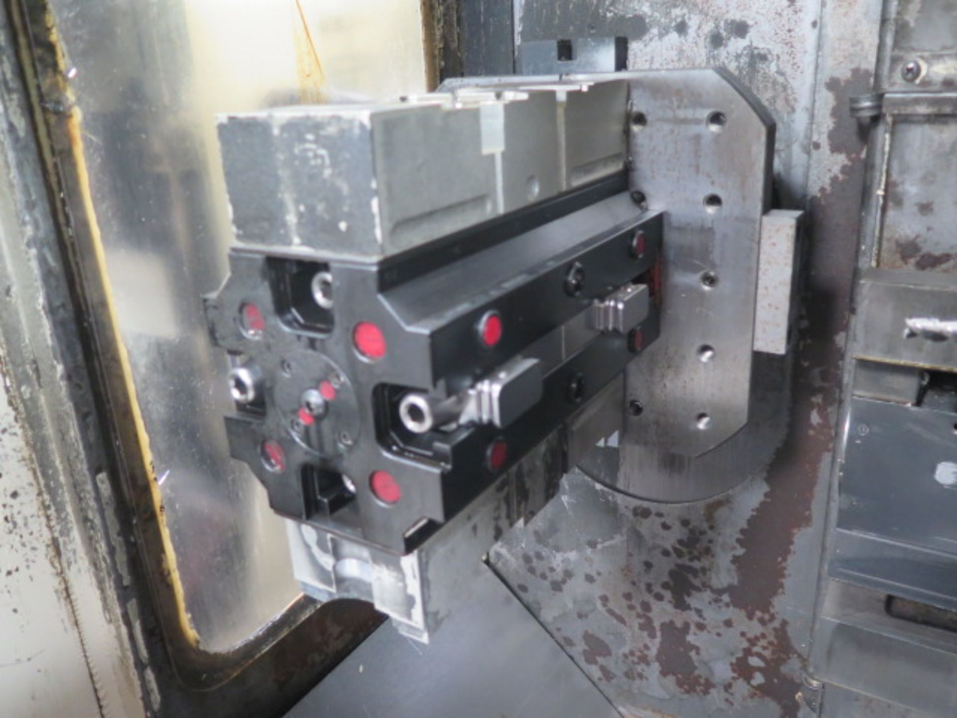 Tsugami MS3.10P Type MA3H 4-Axis 10-Pallet CNC HMC (HAS X-AXIS PROBLEM), SOLD AS IS - Image 10 of 20