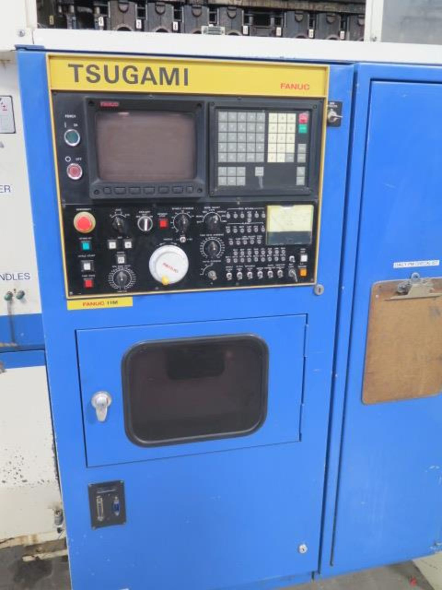Tsugami MS3.10P Type MA3H 4-Axis 10-Pallet CNC HMC (HAS X-AXIS PROBLEM), SOLD AS IS - Image 4 of 20