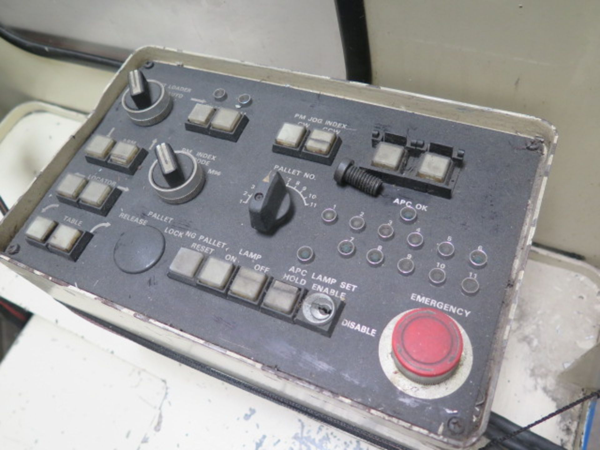 Tsugami MS3.10P Type MA3H 4-Axis 10-Pallet CNC HMC (HAS X-AXIS PROBLEM), SOLD AS IS - Image 15 of 20