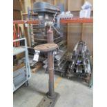 Test Rite Pedestal Drill Press (SOLD AS-IS - NO WARRANTY)