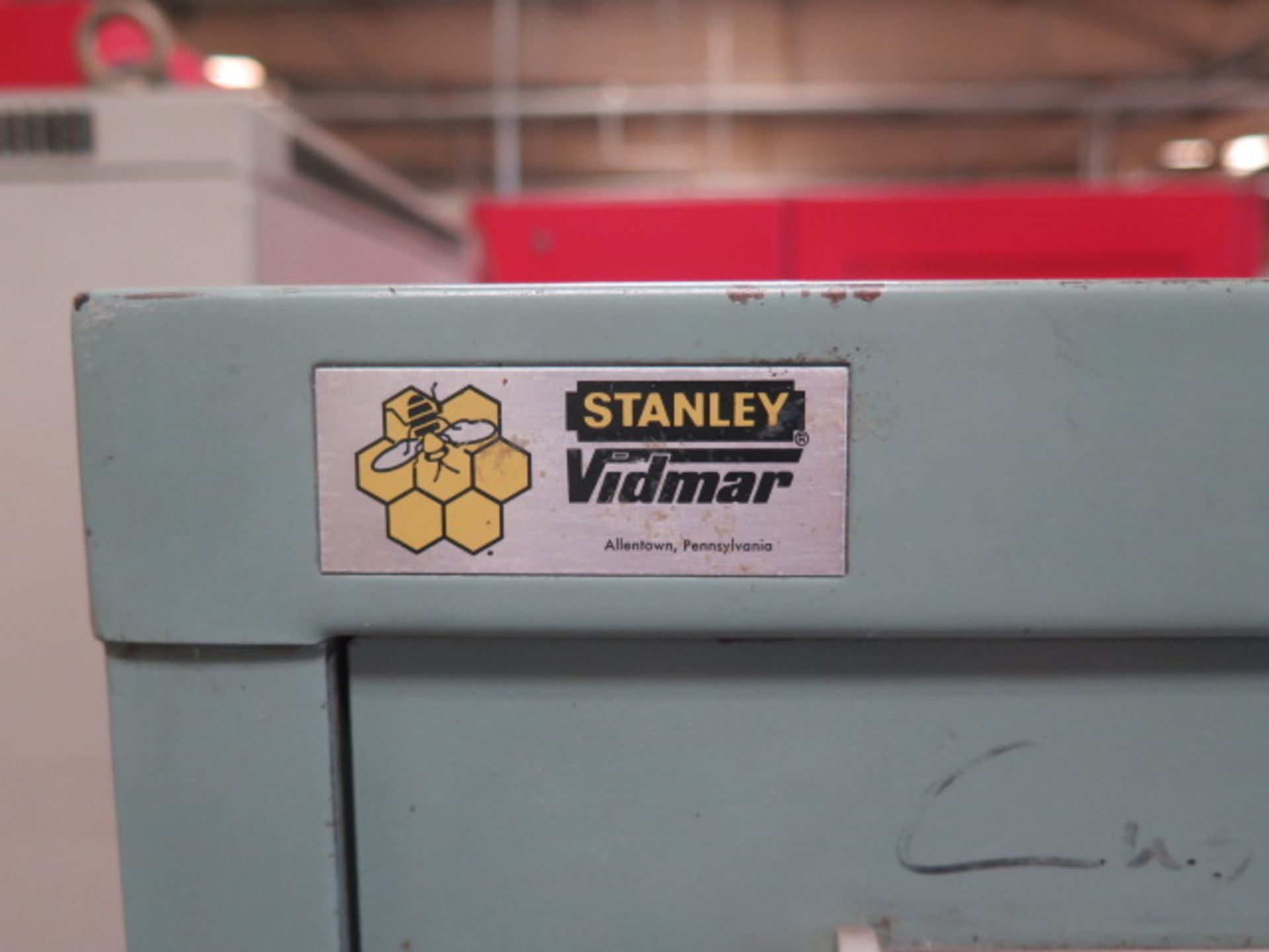 Vidmar 10-Drawer Tooling Cabinet w/ Vise Jaws (SOLD AS-IS - NO WARRANTY) - Image 3 of 11