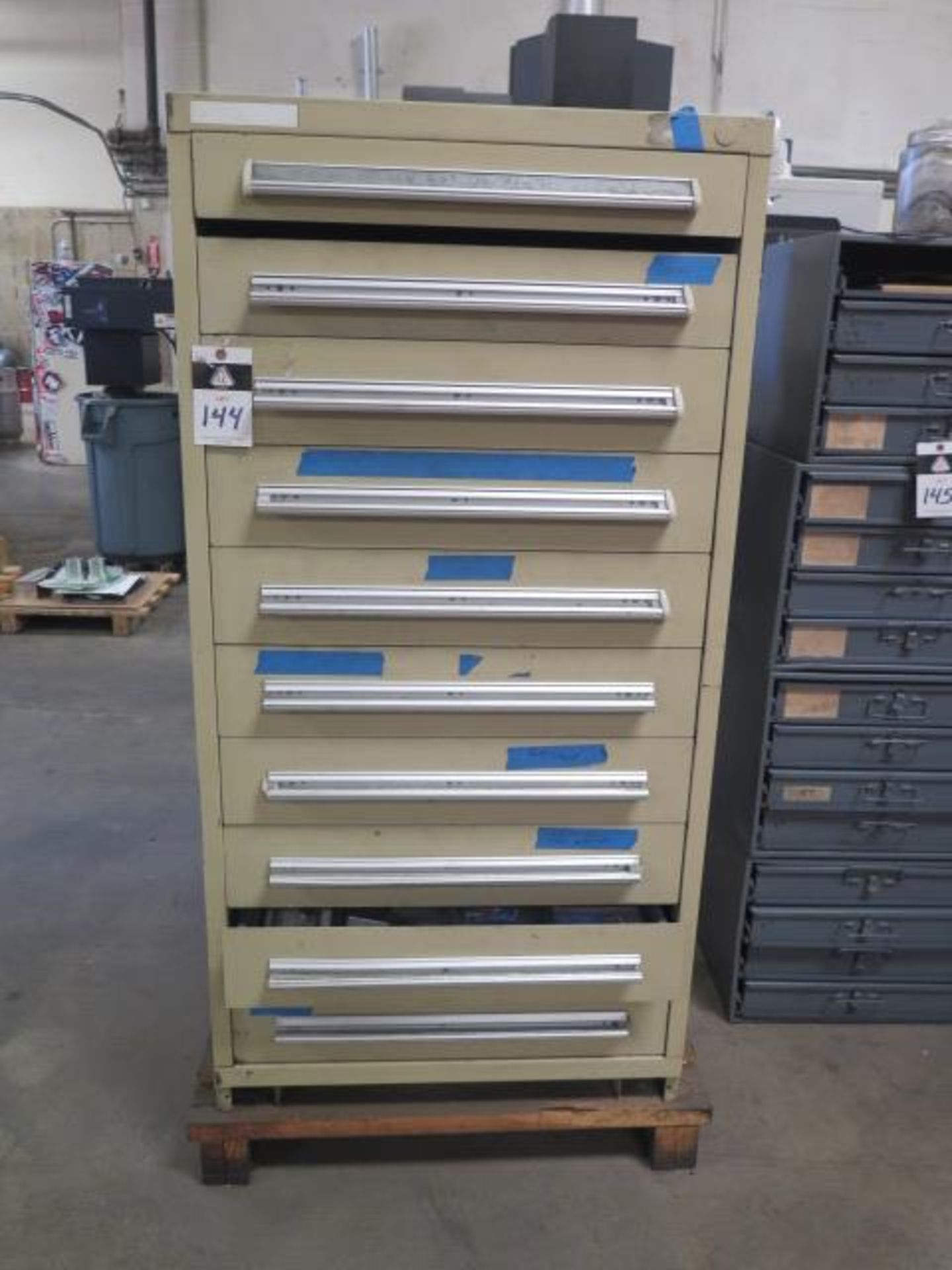 10-Drawer Tooling Cabinet w/ Hardware (SOLD AS-IS - NO WARRANTY)