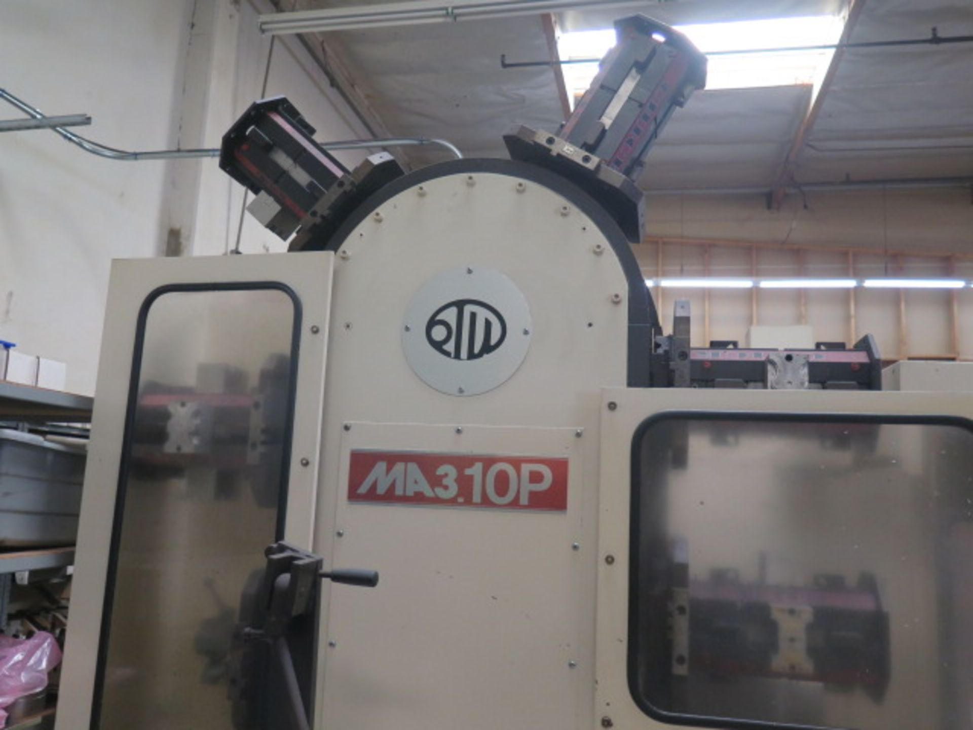 Tsugami MS3.10P Type MA3H 4-Axis 10-Pallet CNC HMC (HAS X-AXIS PROBLEM), SOLD AS IS - Image 11 of 20