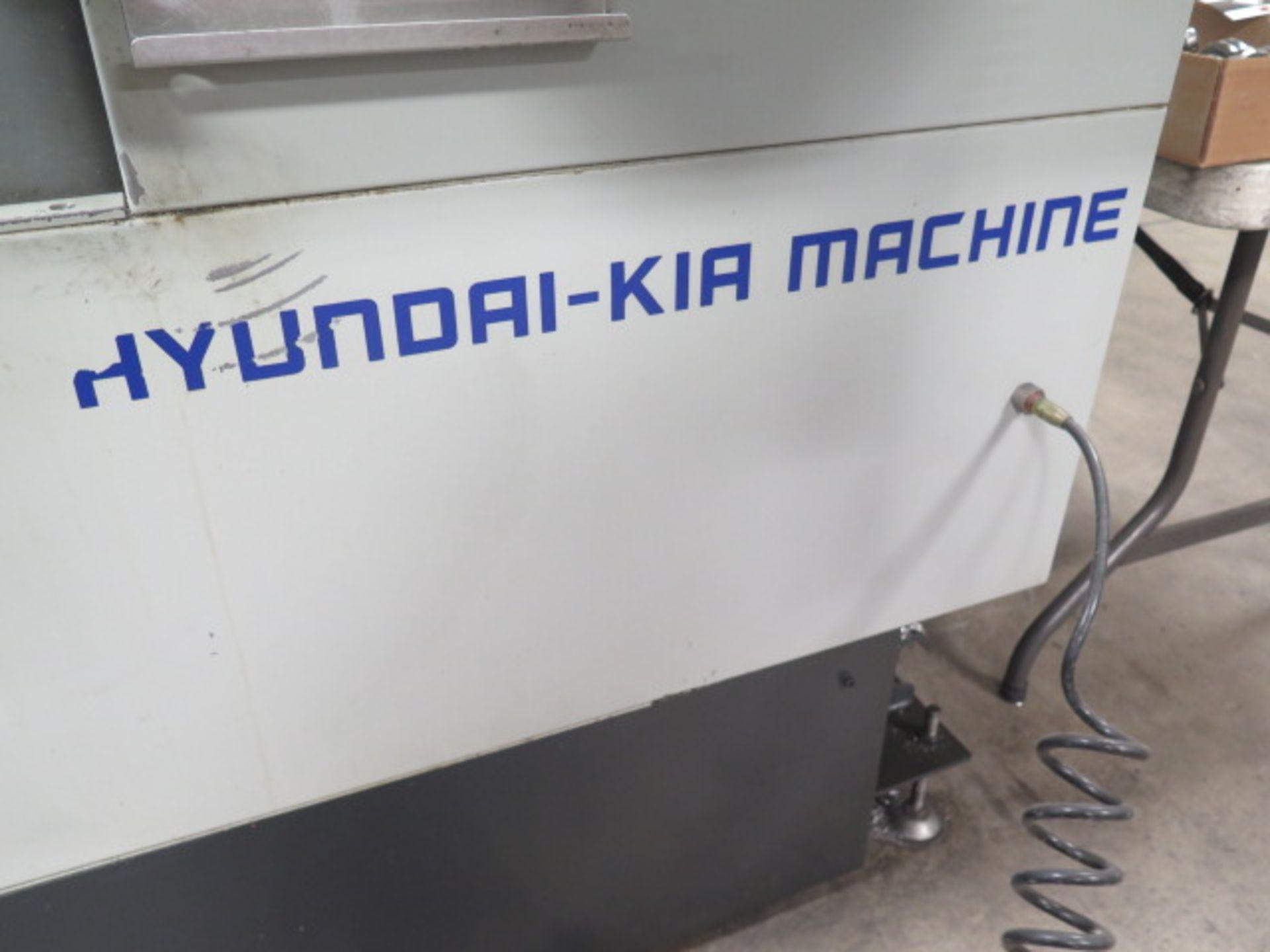 2004 Hyundai WIA VX500 4-Axis CNC VMC s/n VX5000882 w/ Hyundai WIA Fanuc i- Series, SOLD AS IS - Image 4 of 23