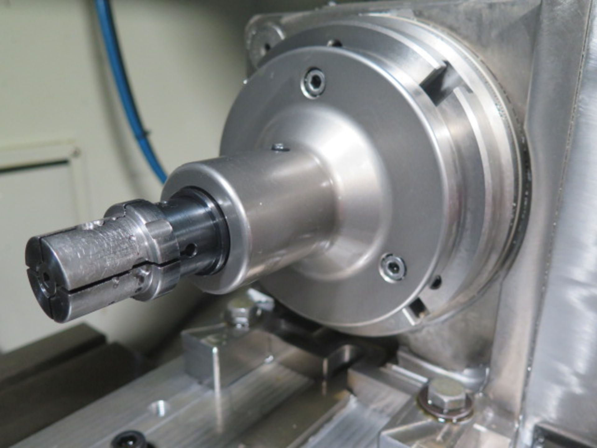 """Samchully 4th Axis 7"""" Rotary Head w/ 5C Pneumatic Collet Closer (SOLD AS-IS - NO WARRANTY) - Image 4 of 8"""