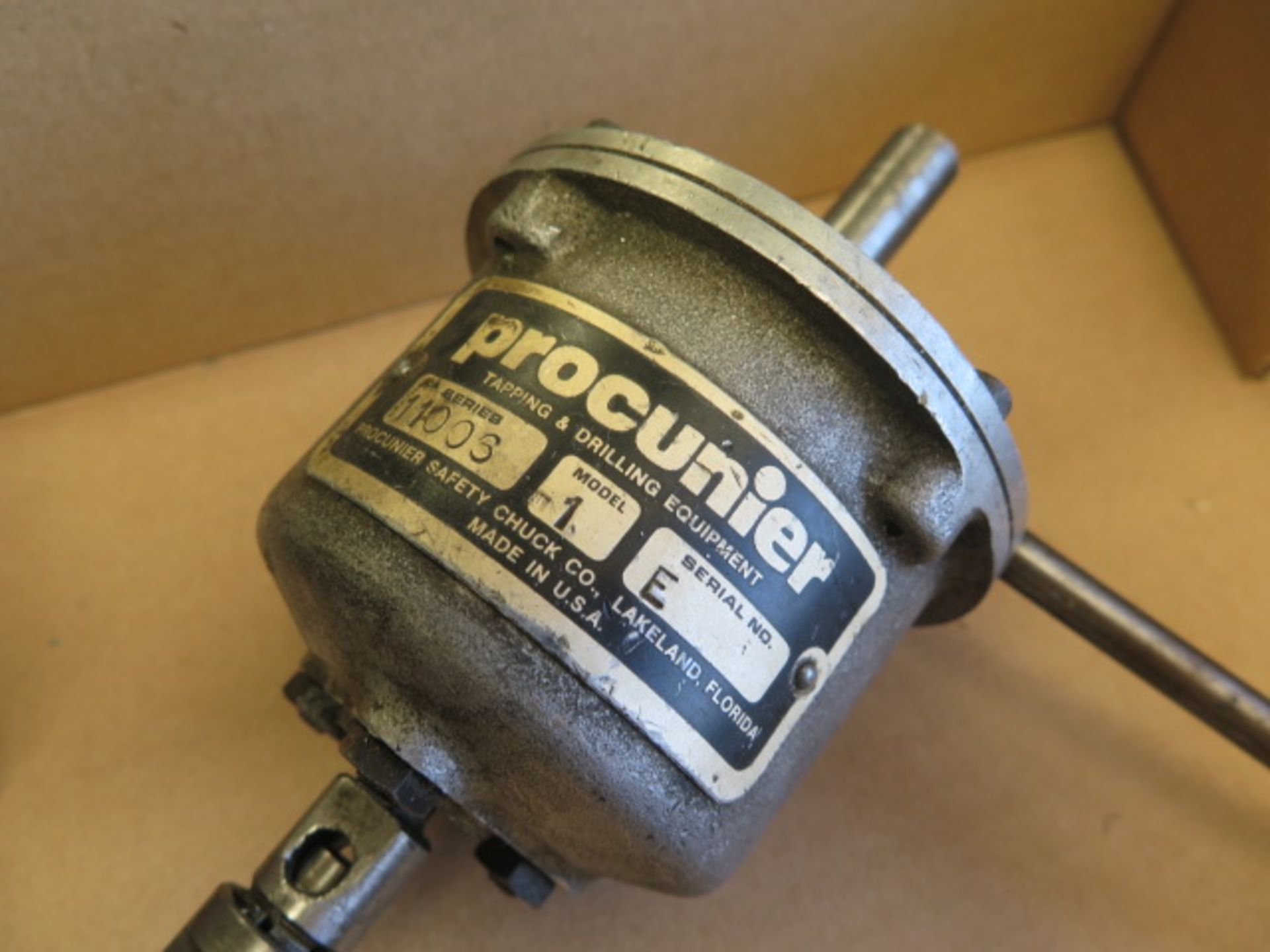 Tapmatic and Procunier Tapping Heads (2) (SOLD AS-IS - NO WARRANTY) - Image 4 of 4