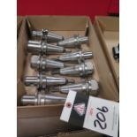 BT-40 Taper Balanced Tooling (9) (SOLD AS-IS - NO WARRANTY)