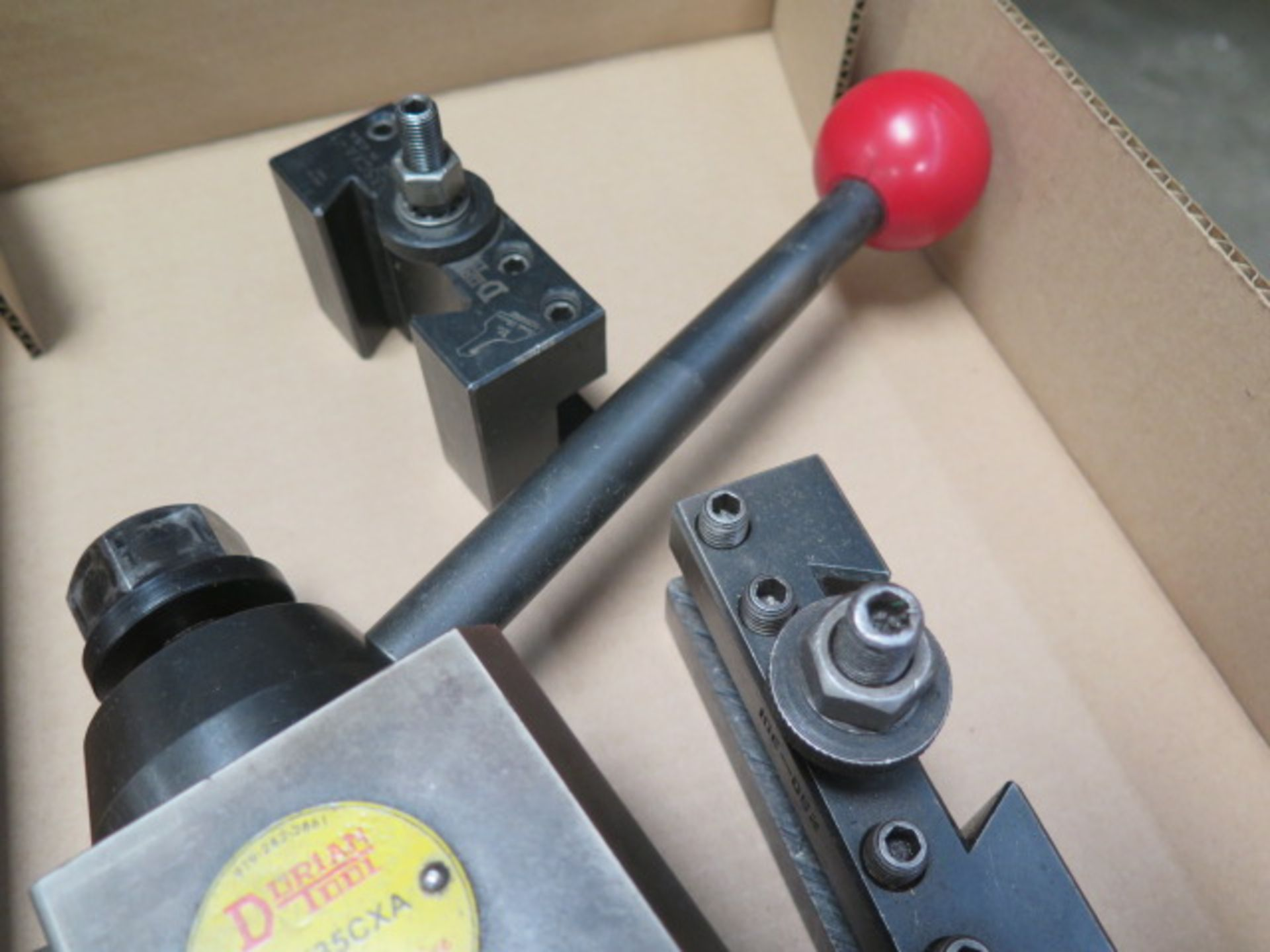 Dorian Tool Post and Tool Holders (SOLD AS-IS - NO WARRANTY) - Image 4 of 4