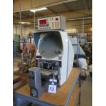 "Gage Master Series 20 13"" Optical Comparator w/ Gage Master GM4 DRO, Dig Angular Readout, SOLD AS IS"