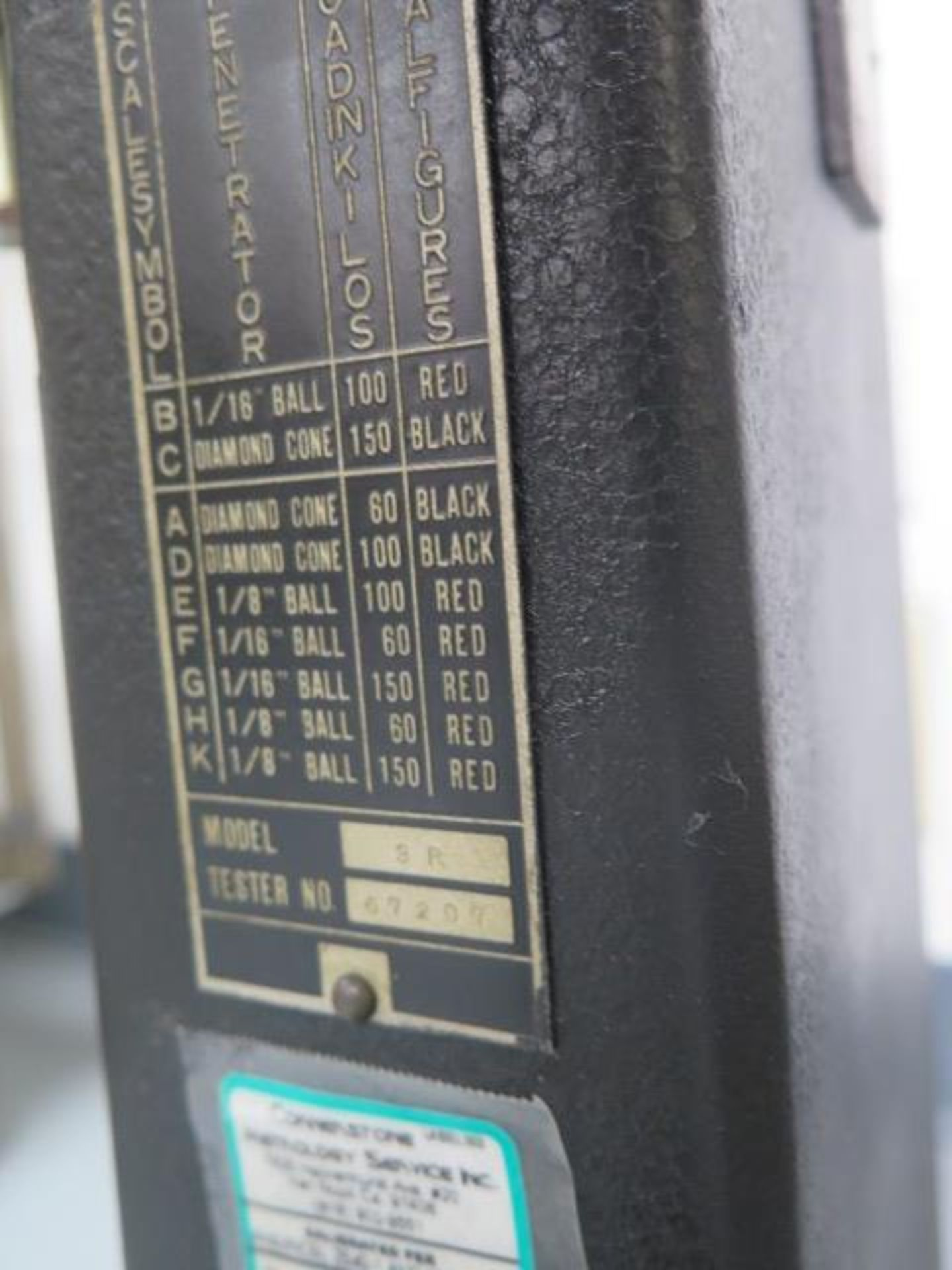 Rockwell Hardness Tester w/ Accessories (SOLD AS-IS - NO WARRANTY) - Image 7 of 9