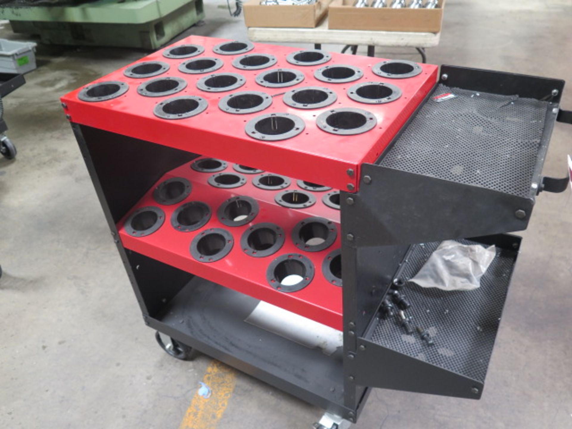Huot Toolscoot 50-Taper Tooling Cart (SOLD AS-IS - NO WARRANTY) - Image 2 of 5