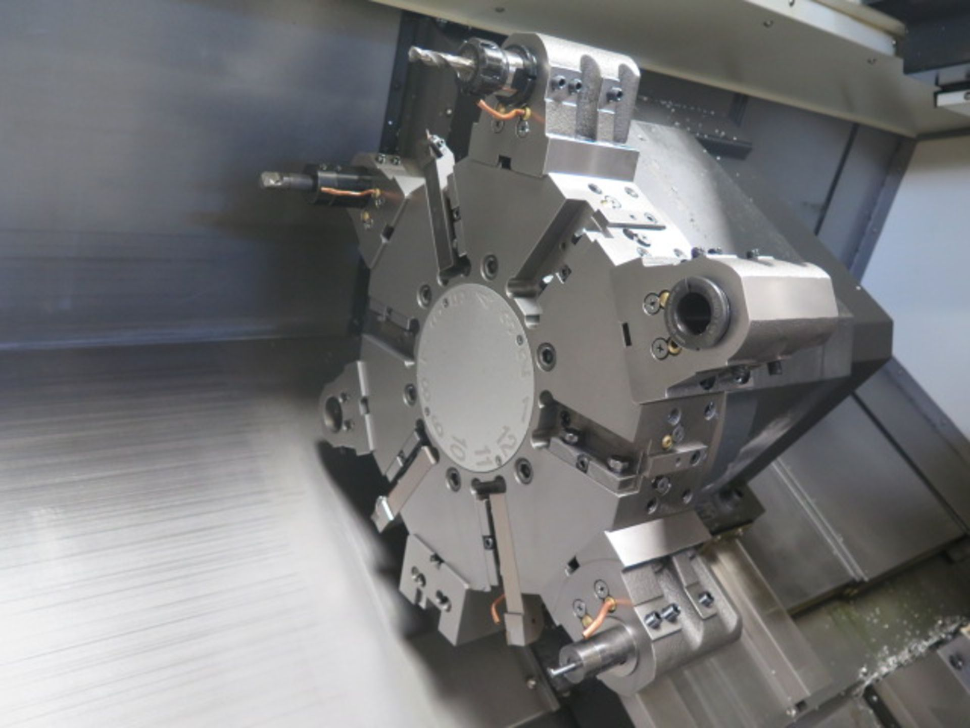 2016 Hyundai WIA L300LA CNC Turning Center s/n G3726-0083 w/ Fanuc i-Series Controls, SOLD AS IS - Image 9 of 20