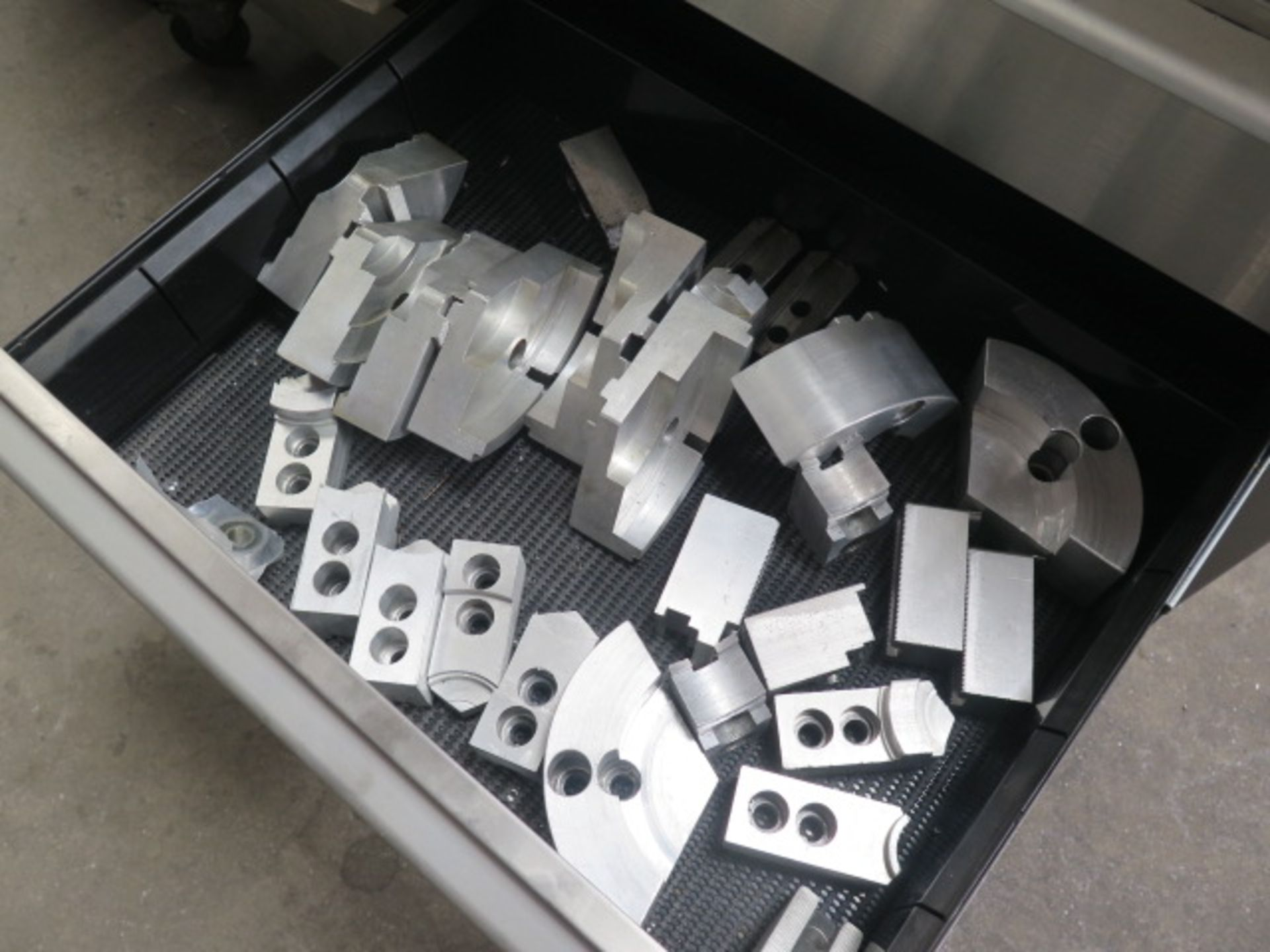 6-Drawer Tooling Cabinet w/ Chuck Jaws (SOLD AS-IS - NO WARRANTY) - Image 7 of 9