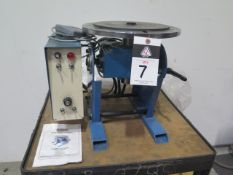 """2016 Baileigh WP-450 13"""" Welding Positioner s/n KJ-220-1607-A019 w/ Baileigh Controls (SOLD AS-IS -"""