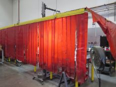 Welding Curtains (SOLD AS-IS - NO WARRANTY)